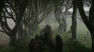 Game of Thrones location The Dark Hedges in Northern Ireland