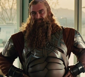 Ray as Volstagg in Thor