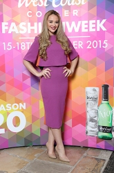 Ashleigh Coyle in Kevan Jan Two Piece, £349.00 @ Blush @ West Coast Cooler FASHIONWEEK