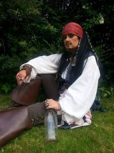 Amanda Large as Captain Jack Sparrow