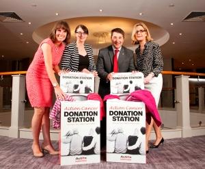Hilary Hanberry (BITC), Paula McAuley (All-Tex), Judges Gareth Kirk and Elaine Birchall