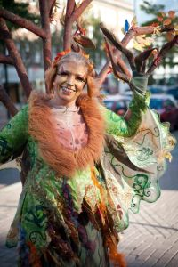 Culture Night Belfast - Dryad Tree Lady