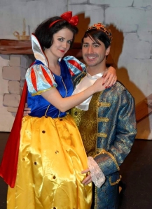 Daniel as Prince Charming in Snow White