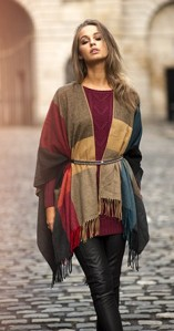Poncho £22.99 on sale December 10