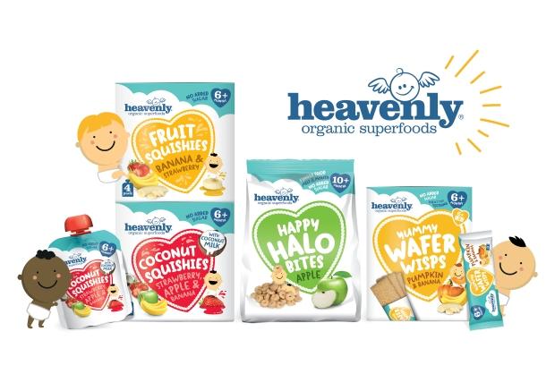 Heavenly New Product Range Snacks