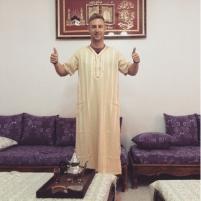 Johnny in Algeria