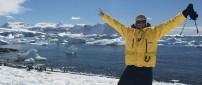 Johnny Ward in Antartica