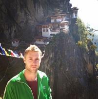 Johnny in Bhutan