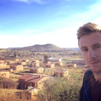 Johnny in Lesotho