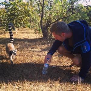 Johnny in Madagasca