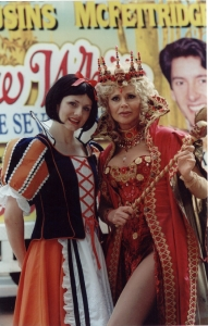 One of Karen's first big jobs was the title role in Snow White and Seven Dwarfs at the Opera House starring with Britt Ekland and Robin Cousins - 2000