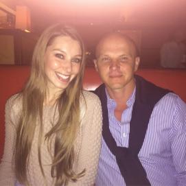 Katie Larmour and boyfriend Alessandro Bazzoni