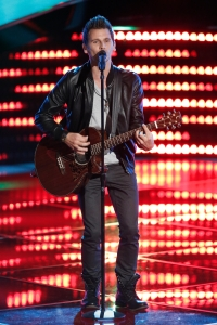 Keith at the Blind Auditions on The Voice