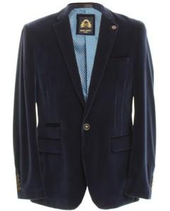 Marc Darcy Blue Velvet Blazer, £89.99 @ DV8