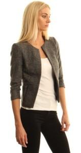 Only Grey Tweed Blazer, £42.99 @ DV8