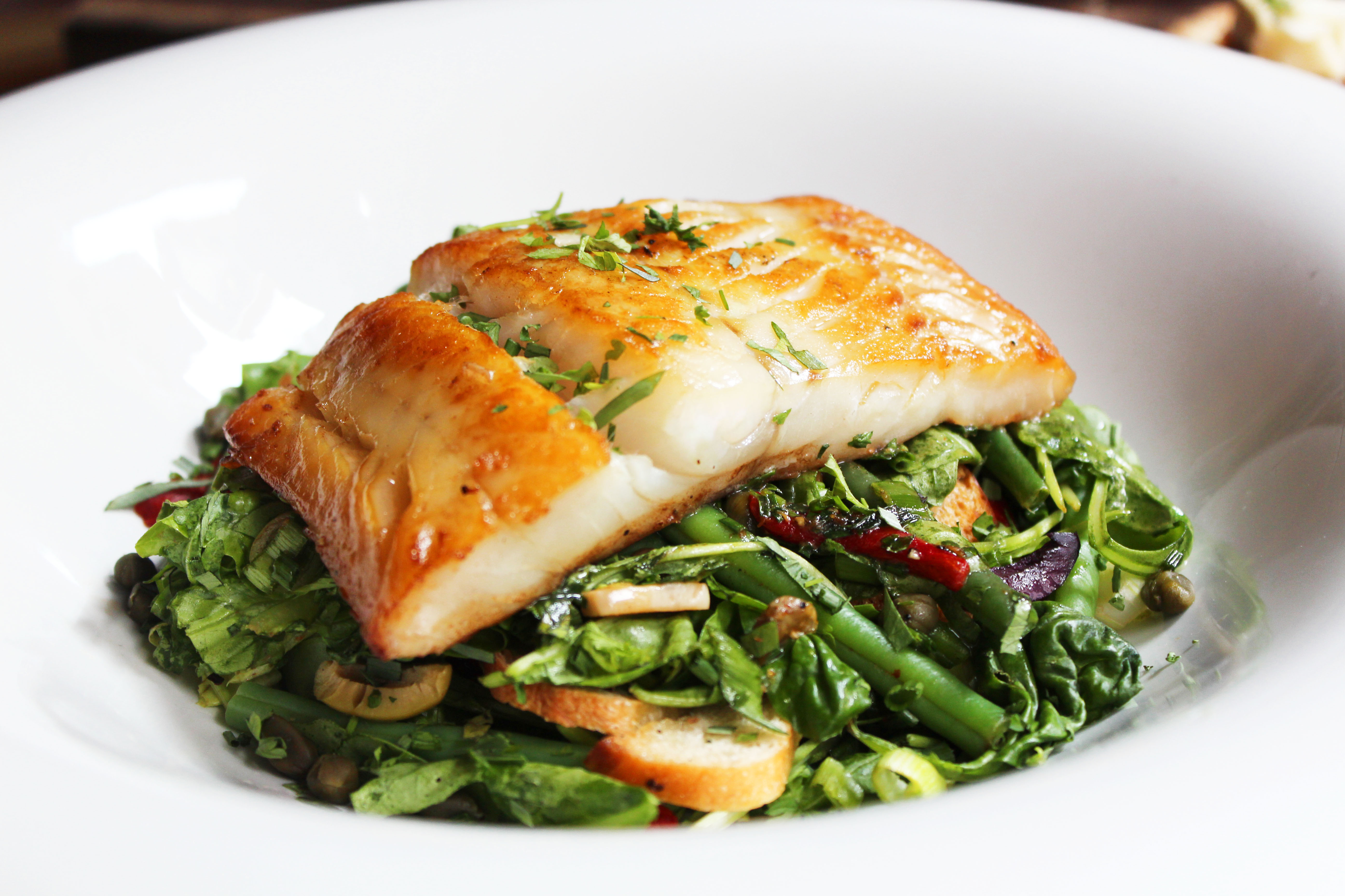 3 fab recipes from belfast fashionweek s favourite for Cod fish fillet recipes