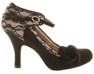 Ruby Shoo Black Elisha Heeled Shoe, £45.99