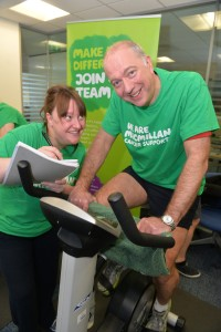 Claire Brown from Macmillan Cancer Support Photo by Aaron McCracken/Harrisons