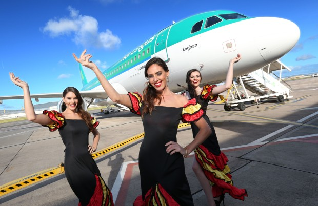 Three new routes out of George Best Belfast City Airport in 2016 are Alicante, Malaga and Palma