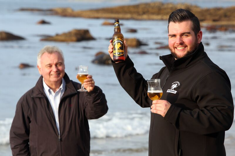 son of telly star eamonn holmes launches new craft beer in. Black Bedroom Furniture Sets. Home Design Ideas