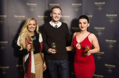 Laura Blair from Dillon Bass, Ryan Adair from The Merchant Hotel and Roisin McErlean from Sweet Afton