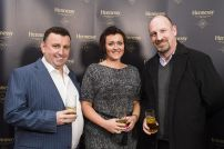 Bill Penton, Julie Ozturk and Russell Campbell from Penton Publications