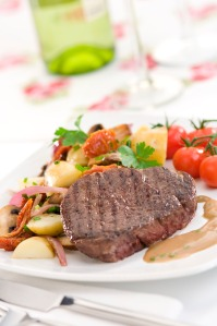 fillet steak with cognac cream high res