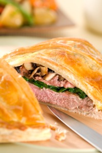 lamb wellington with spincah mushrooms high res