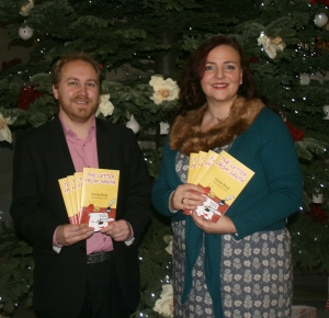 Author Sonia Boal and Green Party MLA Steven Agnew